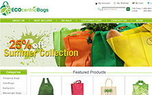 Eco Friendly E-commerce Website Design