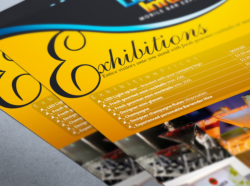 Flyer design for Exhibitions - Close Up