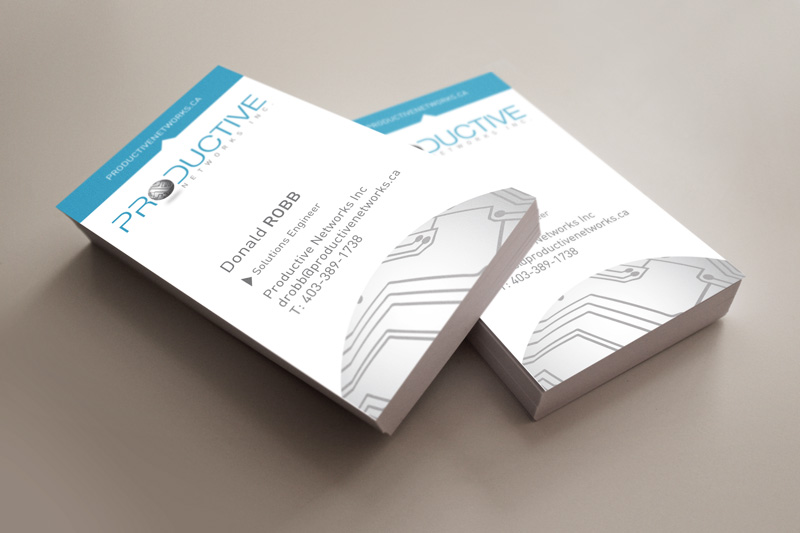 Calgary IT Company Branding Design - Business Card