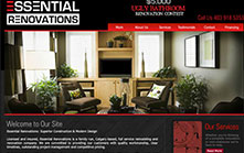 Website Design for Calgary Renovations Company
