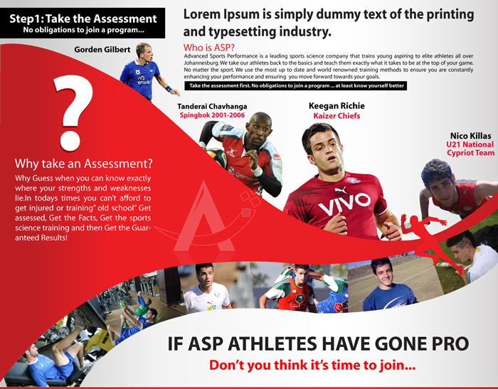 Sports Brochure Design Digital Lion – Sports Brochure