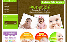 Baby Store E-commerce Website Development