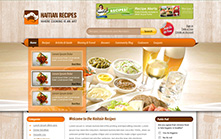 Cooking Recipes Website Design