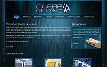 Marine Equipment Website Design