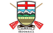 Crest Logo Design for Alberta Broomball Association