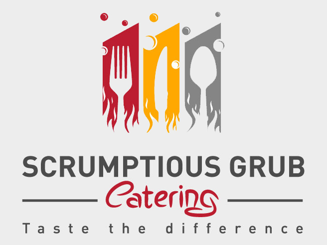 Logo design for calgary catering company digital lion