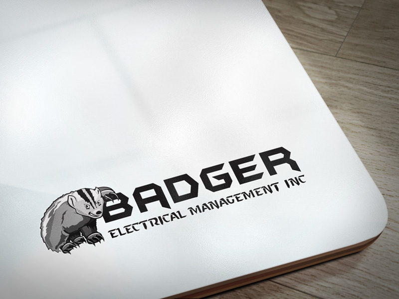 Electrical Company Mascot and Logo Design 1