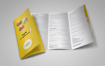 Menu Design for Calgary Catering Company