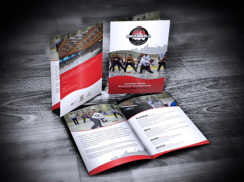 Sports Brochure Design  Digital Lion