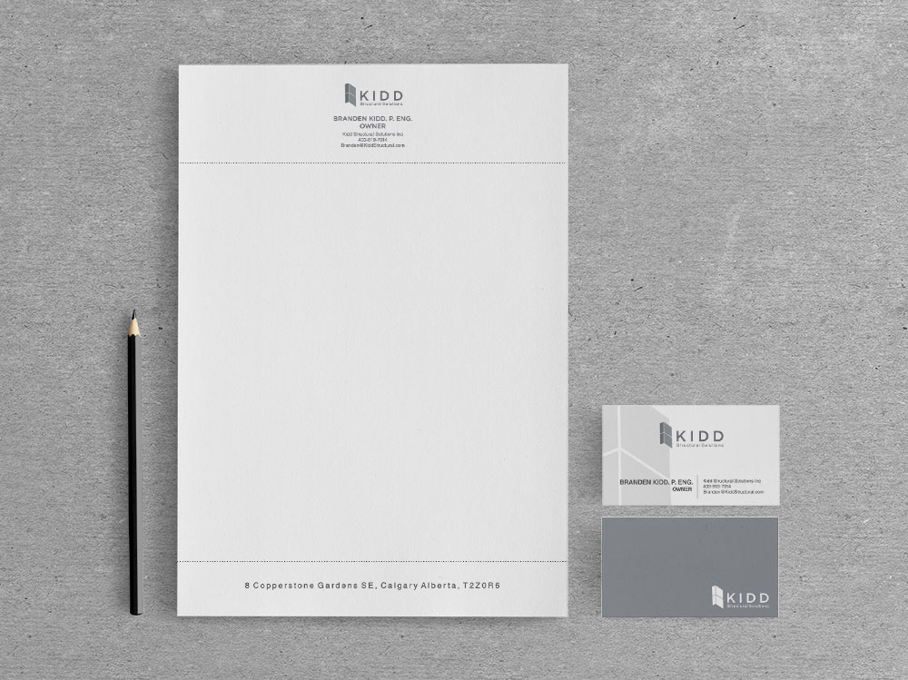 Structural engineering logo and stationery design digital lion stationary design letterhead and business cards reheart Choice Image