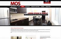 Custom Website Design for a Modular Solutions Company