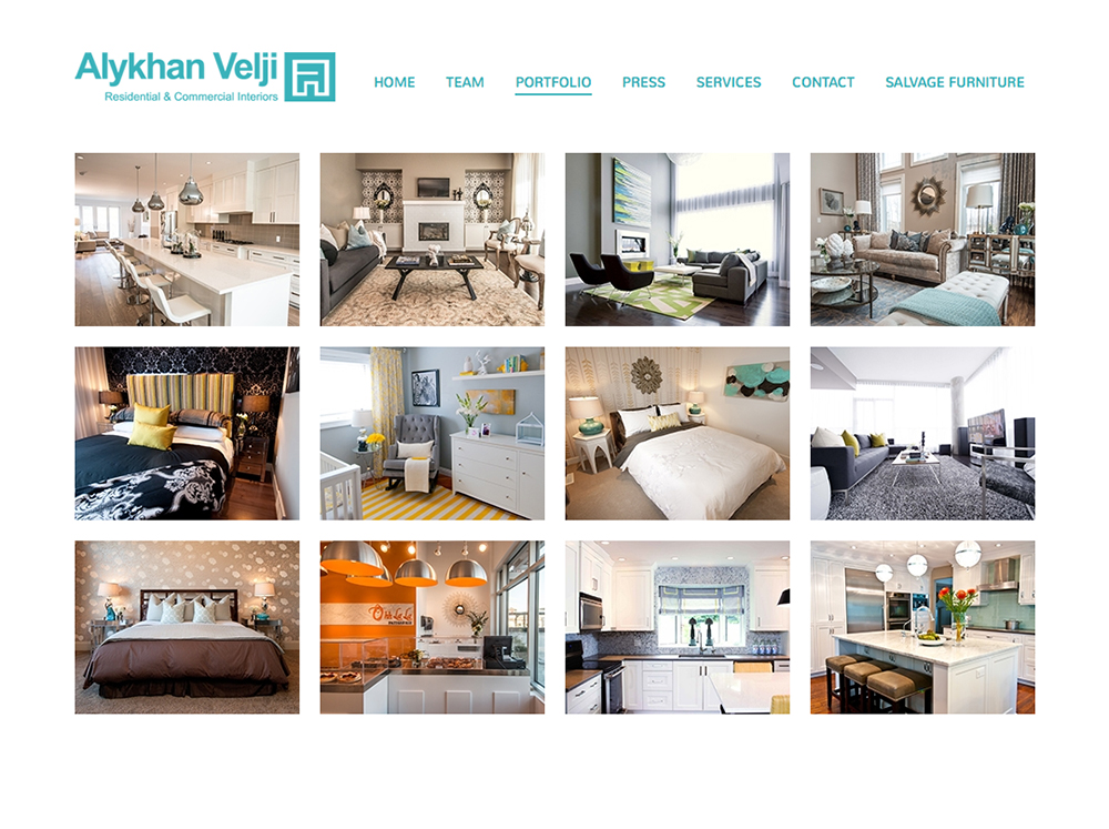 Website Design for an Interior Decorator in Calgary Digital Lion