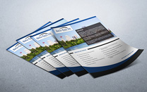 Folder Insert Design for an Engineered Solutions Company