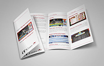 Brochure Design for a Digital Signage Company