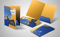 Presentation Folder for an Oil & Gas Exploration Company