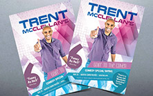 Poster and Flyer Design for Comedy Tour