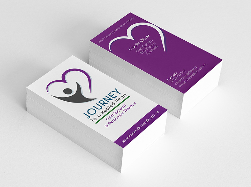 Grief Counselling Final Business Card Concept