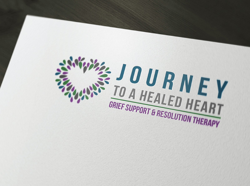 Grief Counselor Logo Design Alternate Concept 2