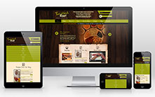 Responsive E-commerce Web Development for Food Product