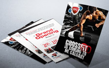 CrossFit Gym Grand Opening Flyer Design
