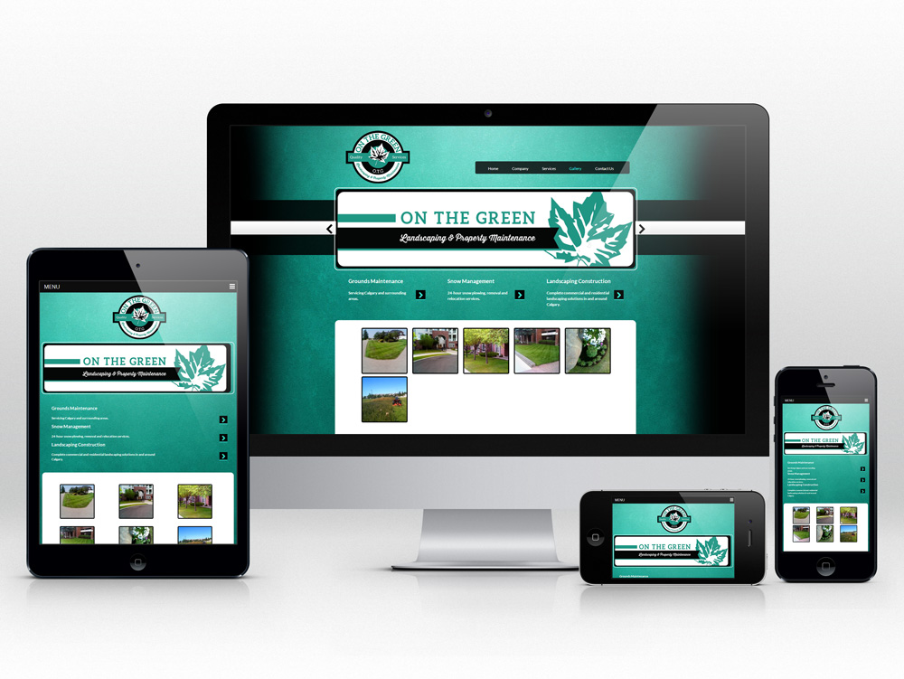 Responsive Web Design for Landscaping Company | Gallery