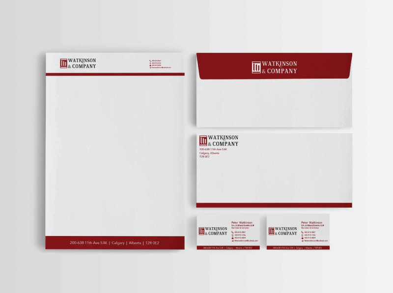 Law Firm Stationery Design Chosen Concepts