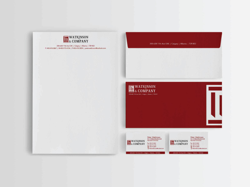Law Firm Stationery Design Alternate Concepts