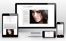Makeup and Stylist Responsive Web Design
