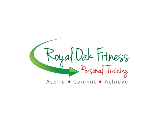 Personal Fitness Training Logo Design Alternate Concept