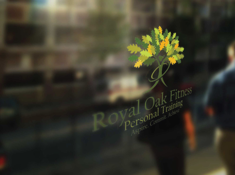 Personal Fitness Training Logo Design Final Concept