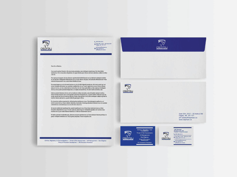 Security and Investigations Professional Stationery Design | Chosen Concept