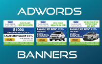 Online AdWords Marketing Banner Design
