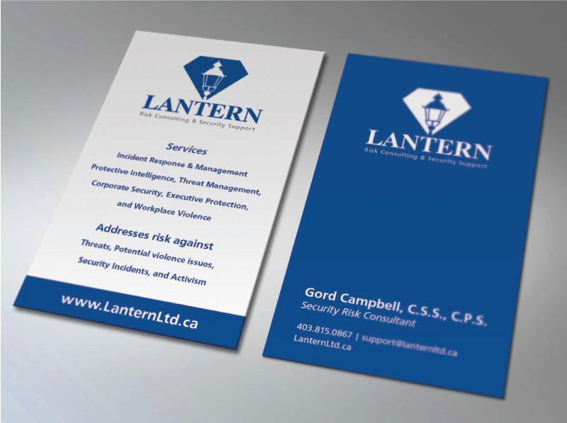 Corporate business card design for security company for Cctv business card