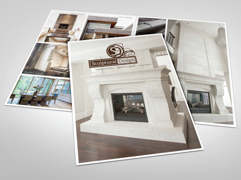 Custom Professional Installations Brochure Design - Front Cover and Inside