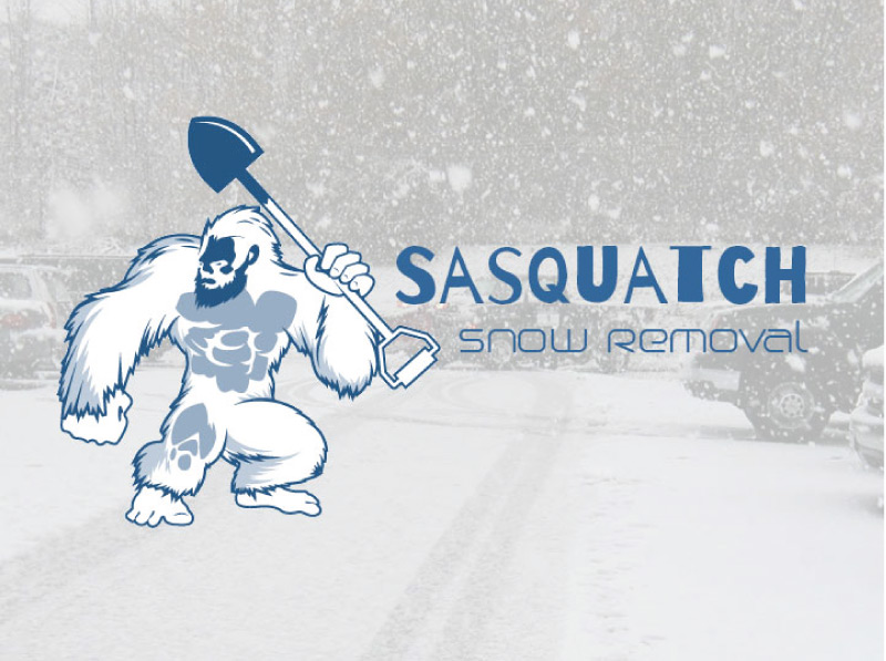 Snow Removal Logo Design | Final after revisions