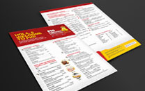 Menu Design for a Local Restaurant