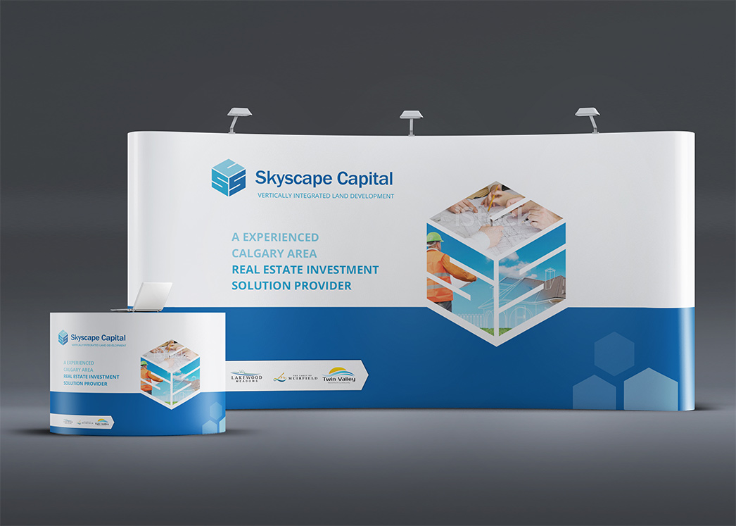 Trade Show Booth Layout : Trade booth design graphic services the logic box